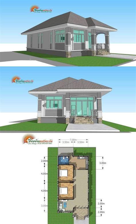 compact  cozy  bedroom bungalow philippines house design bungalow house design house