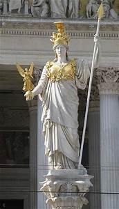 """statue so called """"Pallas Athena"""" - goddess Athena hold on ..."""