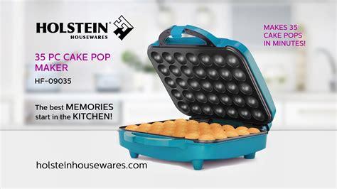 hf  pc cake pop maker holstein housewares youtube