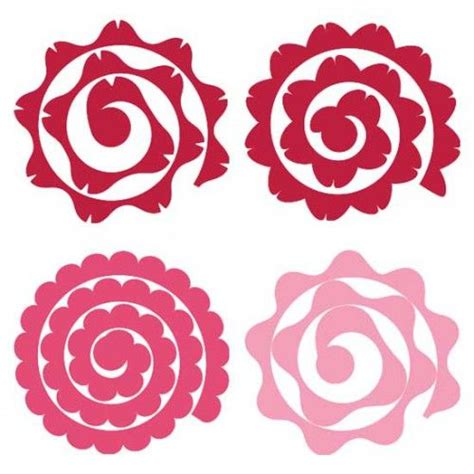 cricut flower template 221 best images about cricut on fonts paper flowers and silhouette cameo