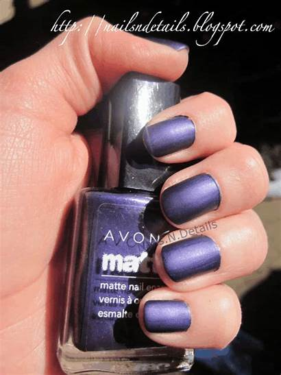 Nail Matte Avon Sparkle Enamel Colors Sassy