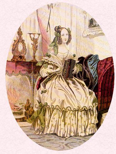 early victorian costume history   fashion