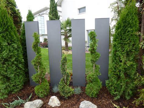 Sichtschutz Garten Metall by Stele Aus Metall