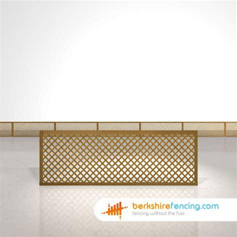 2ft Trellis Fence Panels rectangle privacy trellis fence panels 2ft x 6ft