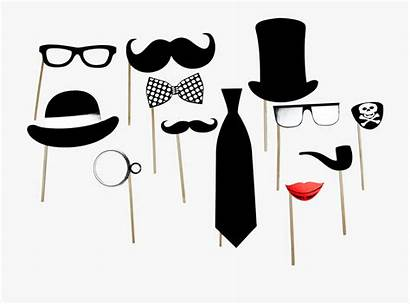 Booth Props Cartoon Silhouettes Netclipart Strip Tags