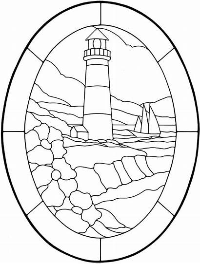 Dover Pattern Publications Glass Coloring Stained Pages