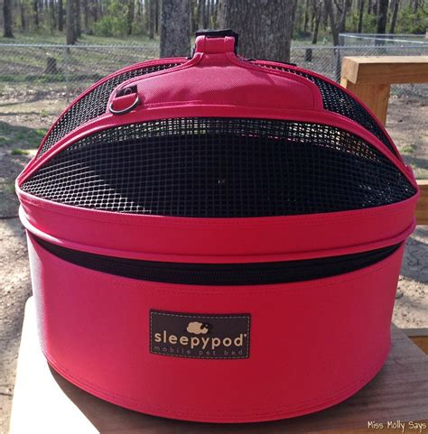 sleepypod mobile pet bed a stylish pet carrier bed