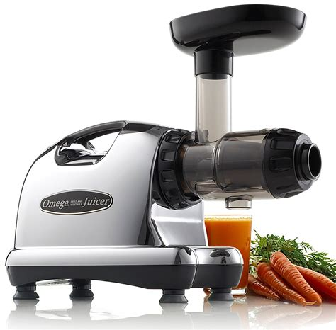 juicer omega juice extractor masticating j8006 center nutrition dual stage juicers
