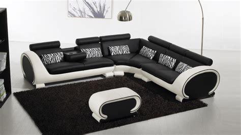 canapé d angle cuir noir canapé d 39 angle cuir au design contemporain okyo mobilier moss