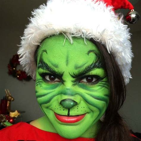 29 jaw dropping halloween makeup ideas grinch halloween