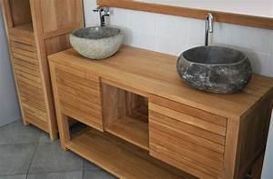 Meuble Salle De Bain Double Vasque 120 Cm : mercier carrelages meuble 02 salle de bain simple vasque ~ Edinachiropracticcenter.com Idées de Décoration