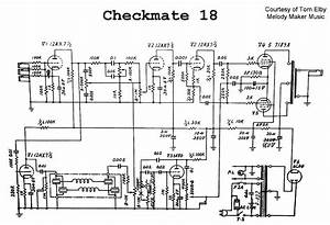 Teisco Checkmate 18 Audio Pa Reverb Sch Service Manual