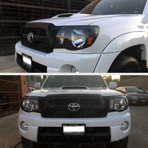 Toyota Tacoma Lights by 2005 2011 Toyota Tacoma Quot Trd Style Quot Black Front Headlights