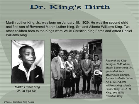 Best Martin Luther King Jr Facts About Childhood Image Collection
