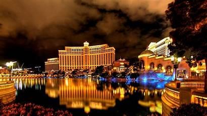 Vegas Las Desktop Night Hotel Building Resolution