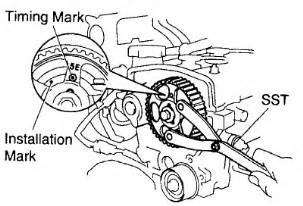 i need a timing diagram for a 1996 toyota tercel 4 cylinder