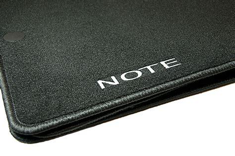 Nissan Note Car Mats - nissan note genuine car floor mats luxury velour front