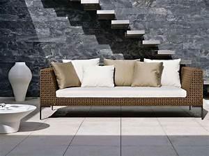 B&B Italia Charles Outdoor Sofa by Antonio Citterio