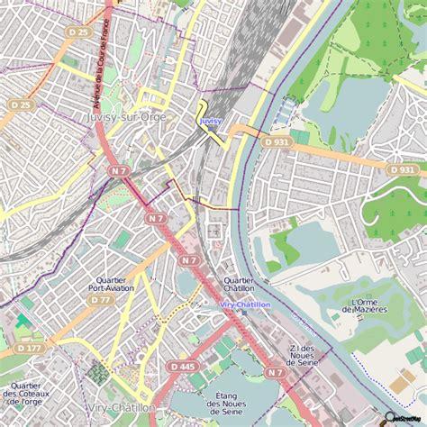 cuisine avenue plan juvisy sur orge carte ville juvisy sur orge