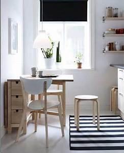 Table Pour Petite Cuisine : une table de cuisine avec rangement comme coin repas ~ Dailycaller-alerts.com Idées de Décoration