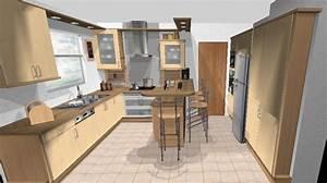 Logiciel Amenagement Maison Gratuit #10 Plan De Cuisine Meubles De Cuisine EVTOD
