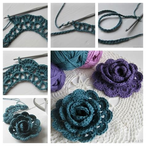 wonderful diy crochet broomstick lace scarf