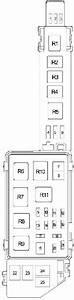 Toyotum Camry Fuse Box Diagram