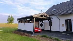 Spitzdach Carport Bilder Galerie Solarterrassen