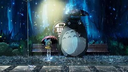 Totoro Neighbor Wallpapers Kusakabe Anime Desktop Fondo