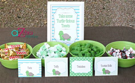 Turtle Themed Bathroom by Turtle Themed Baby Shower Ideas Pretty My