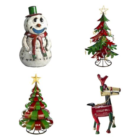 up decorations uk ornaments made from upcycled shipping drums