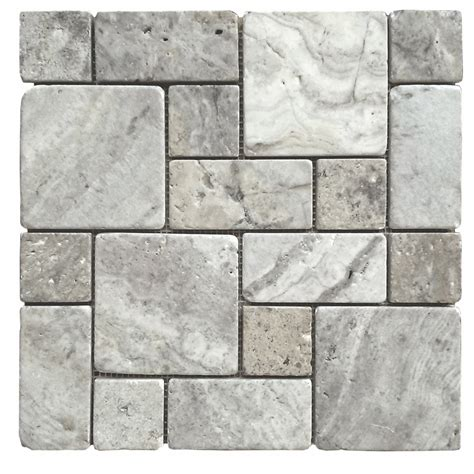 for the shower floor avenzo silver versailles mosaic