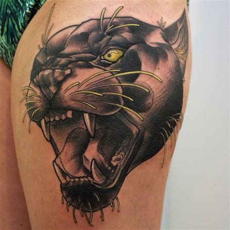 17+ Best Ideas About Black Panther Tattoo On Pinterest