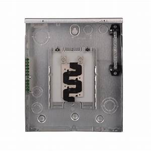 Eaton Br 125 Amp 8-space 16-circuit Indoor Main Lug Surface With Ground Bar-br816l125sgp