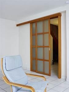 Porte De Sparation De Pices Sur Mesure Atelier Madec