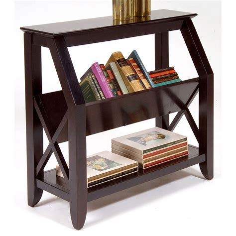 Bookcase Console by Piedmont Bookshelf Console Table Bookcases At Hayneedle