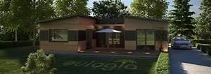 maison ossature bois contemporaine plain pied 125 m2 With delightful la maison des artisans 3 maisons contemporaines constructeur maison contemporaine