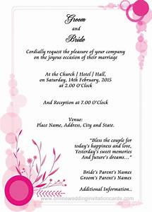309 best invitation sample images on pinterest With free printable evening wedding invitations
