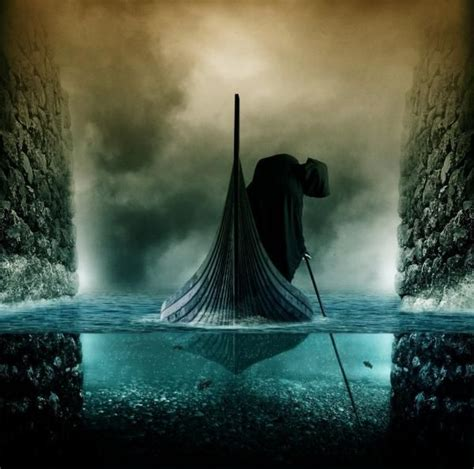 river styx digital art  pshoudini pondly