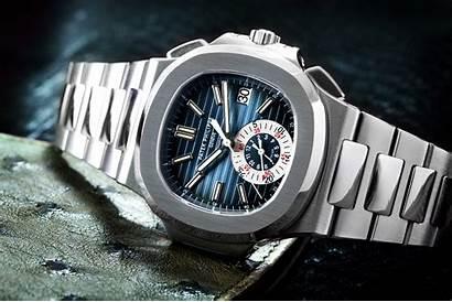 Patek Philippe Nautilus Watches Wristwatches Chronograph Luxuo