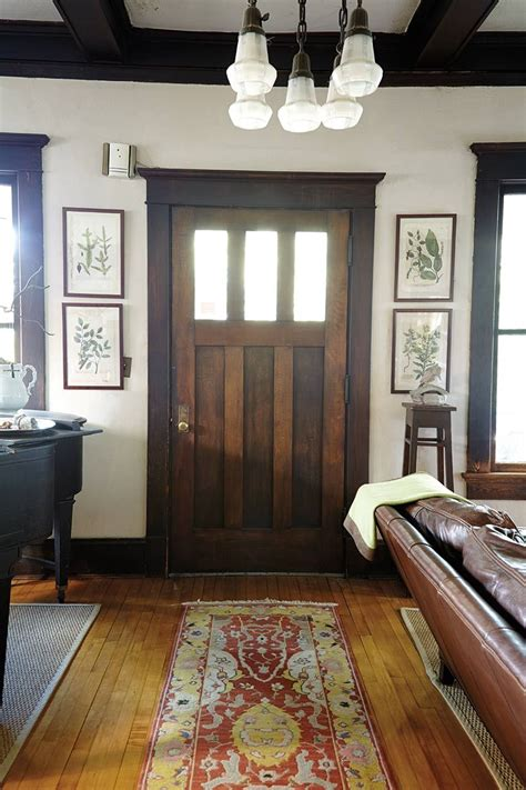 home interior decor tour of a craftsman home in atlanta ga entryway