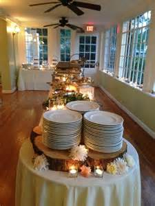 lit candles 20 awesome fall buffet ideas for your