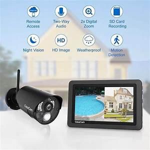 Casacam Vs802 Wireless Security Camera System Review