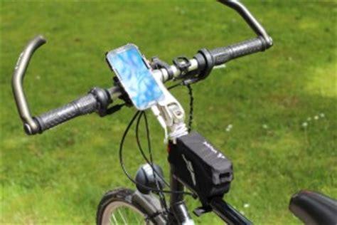 handy am fahrrad im test handy stromversorgung auf dem fahrrad mit dem easyacc powerbank akku