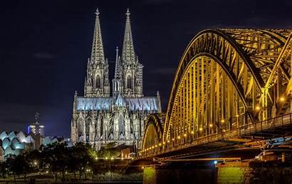Cologne Cathedral Germany Wallpapers Background Sightseeing Religious
