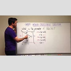 Gmat Tuesday Quant Practice  Geometry Challenge Question Youtube