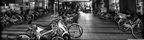bicycle parking  hd desktop wallpaper  wide ultra