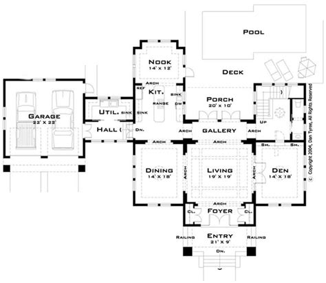 house plan blueprints large images for house plan 116 1041