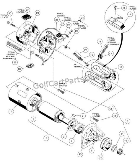 Club Car Starter Generator Wiring by Starter Generator Wiring Diagram Car Pictures