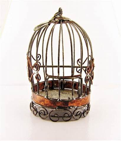 Garden Fairy Miniature Metal Cage